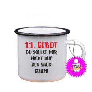 11.GEBOT - Tasse mit Spruch Lustige/ Sprüche / Urlaub / Liebe