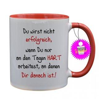 - erfolgreich - Lustige Sprüche Tassen Kaffeebecher Geschenk Witzige