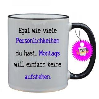 - Persönlichkeiten - Lustige Sprüche Tassen Kaffeebecher Geschenk Witzige