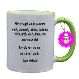 - Ganz einfach! - Lustige Sprüche Tassen Kaffeebecher Geschenk Witzige