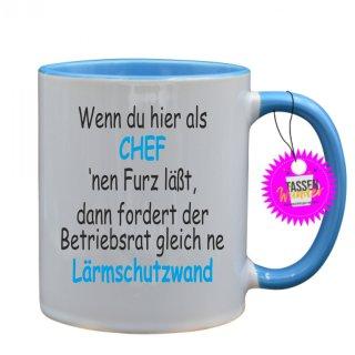 - CHEF - Lustige Sprüche Tassen Kaffeebecher Geschenk Witzige