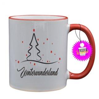 - Winterwunderland - Lustige Sprüche Tassen Kaffeebecher Geschenk Witzige