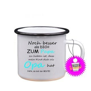 - Papa, du bist der beste! -Tassen Spruch Lustige Tasse Geschenk Kaffeebecher Liebe Witzig