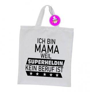 ICH BIN MAMA - Einkaufstasche Sprüche Witzige Lustige Bedruckt