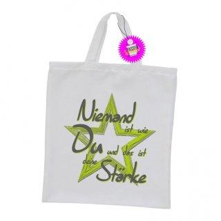 - deine Stärke - Einkaufstasche Sprüche Witzige Lustige Bedruckt