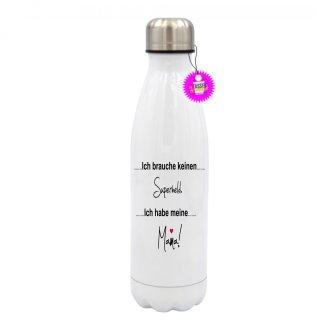 - Ich habe meine Mama - Edelstahl Trinkflasche Sprüche Witzig Lustig Bedruckt Wandern Geschenk