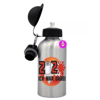 - ICH WAR DABEI - Trinkflasche Tassen Lustige  Geschenk  Wandern Aluminium