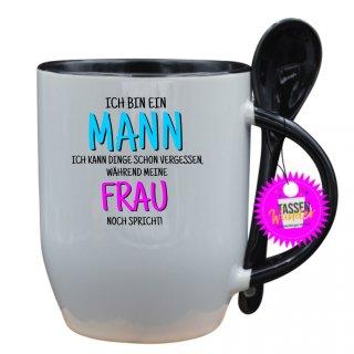 - ICH BIN EIN MANN - Lustige Sprüche Tassen Kaffeebecher Löffel Geschenk Witzige