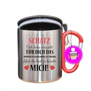 - Schatz, Ich habe versucht - Tasse mit Spruch_Edelstahlbecher_Sprüche_Motive_Liebe