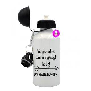 Vergiss alles was ich gesagt habe! - Trinkflasche mit Spruch / Lustige / Sprüche / Aluminium