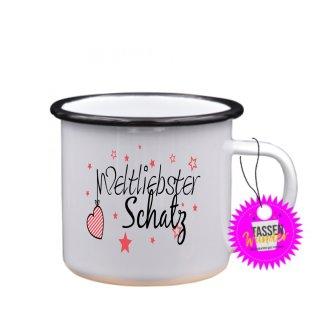 Weltliebster Schatz - Tasse mit Spruch Lustige/ Sprüche / Urlaub