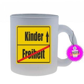 Freiheit / Kinder - Tasse mit Spruch / Lustigen / Sprüchen / Glas / Kaffeebecher