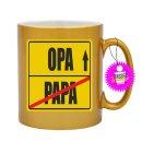 PAPA / OPA  - Tassen mit Spruch / Sprüche / Lustig / Motivation