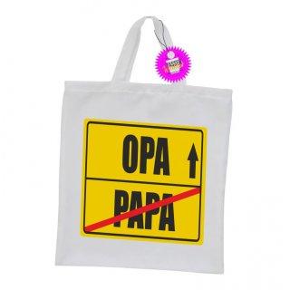 PAPA / OPA  - Einkaufstasche mit Spruch / Sprüche / Witzige / Lustige / Bedruckt