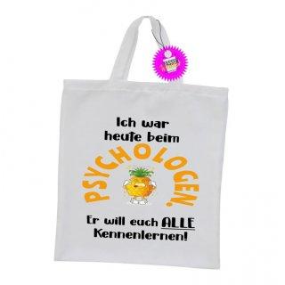 PSYCHOLOGEN ... - Einkaufstasche mit Spruch / Sprüche / Witzige / Lustige / Bedruckt